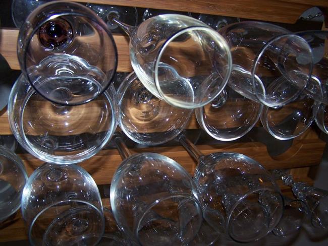 Art: Wine Glasses by Artist Joseph J. Callahan
