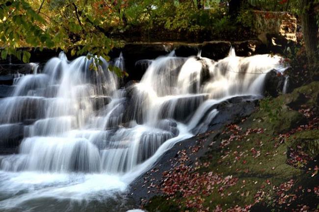 Art: Autumn Falls by Artist W. Kevin Murray