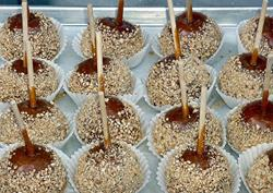 Art: caramel apples by Artist W. Kevin Murray