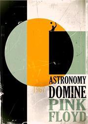 Art: Pink Floyd Astronomy Domine by Artist Milena Gawlik