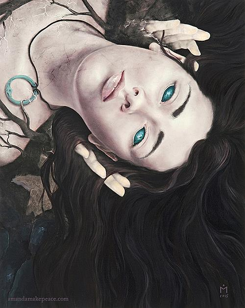 Art: Renascentia by Artist Amanda Makepeace