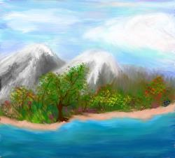 Art: Art Pro-First Try by Artist christi lynn schwartzkopf