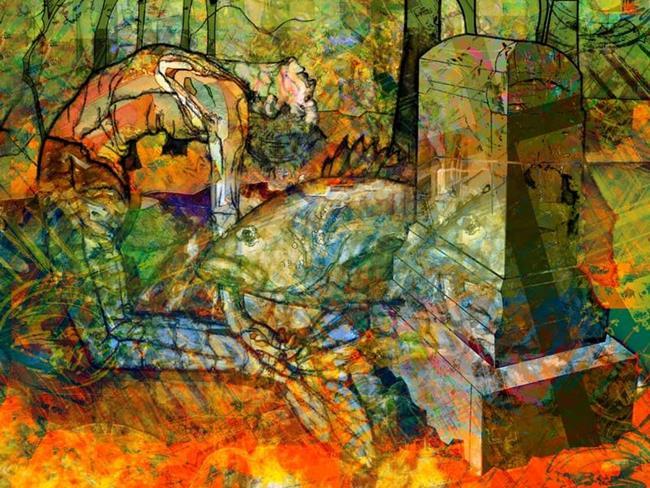 Art: Charleston by Artist Mary Ogle