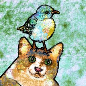 Detail Image for art Fat Cat and Pug