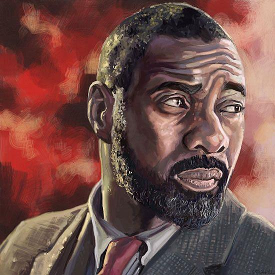 Art: Luther by Artist Mark Satchwill