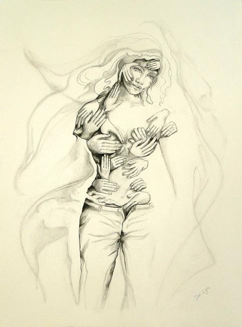 Art: Touch by Artist Doe-Lyn