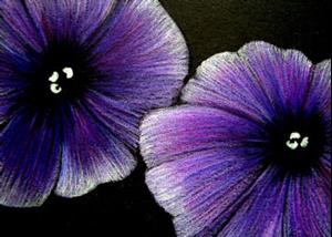Detail Image for art Petunias 1 EBSQ SHOW