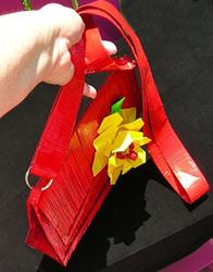 Art: The Lil' Red Purse (SOLD) by Artist Alma Lee