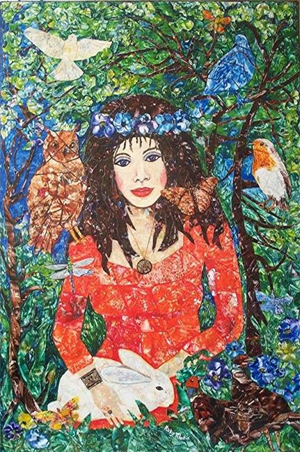 Art: Lady of the Forest by Artist Ulrike 'Ricky' Martin