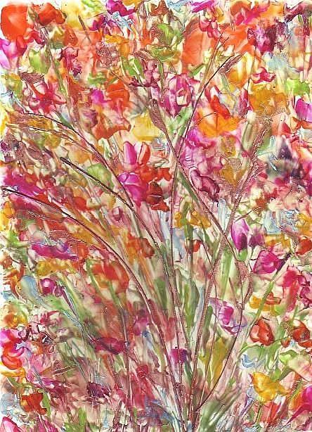 Art: FIELDFLOWERS by Artist Ulrike 'Ricky' Martin