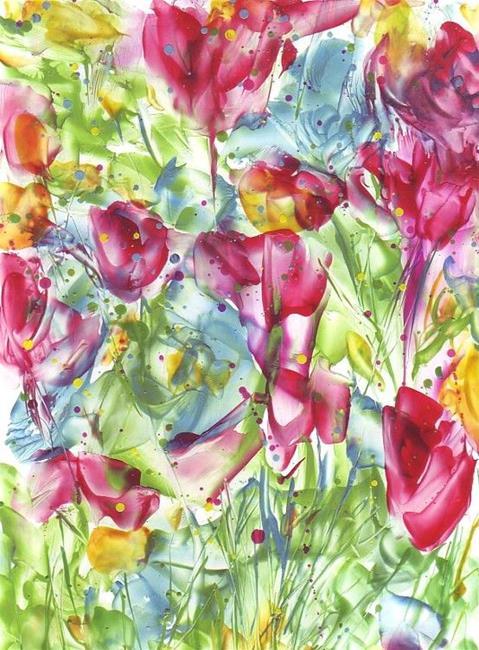 Art: Abstract # 133 by Artist Ulrike 'Ricky' Martin