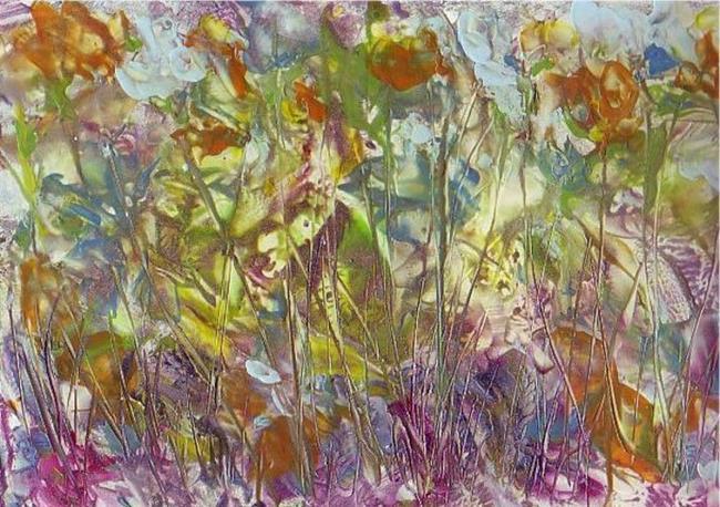 Art: Abstract # 141 by Artist Ulrike 'Ricky' Martin