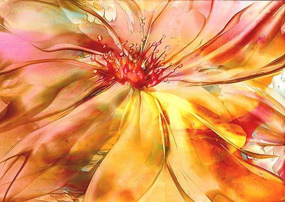 Art: Floral # 23 by Artist Ulrike 'Ricky' Martin