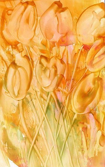 Art: Tulip # 13 by Artist Ulrike 'Ricky' Martin