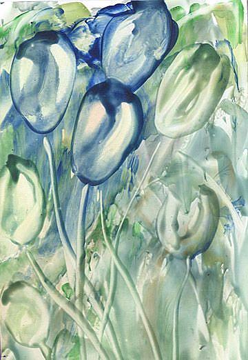 Art: Tulips # 114 by Artist Ulrike 'Ricky' Martin