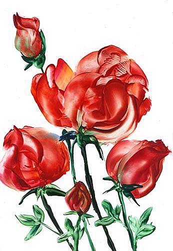 Art: ROSES by Artist Ulrike 'Ricky' Martin