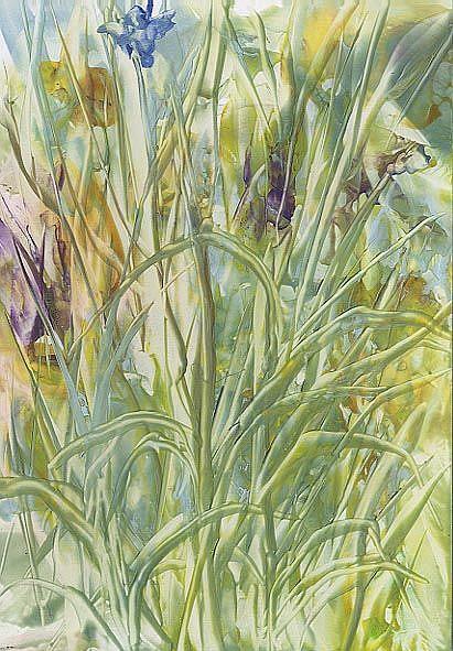 Art: Wildflower Patch by Artist Ulrike 'Ricky' Martin
