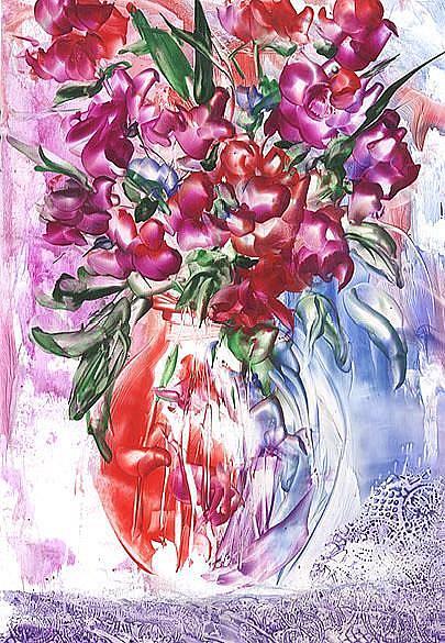 Art: Bouquet # 14 by Artist Ulrike 'Ricky' Martin