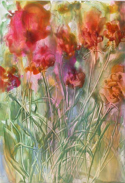 Art: Wildflowers # 2 by Artist Ulrike 'Ricky' Martin