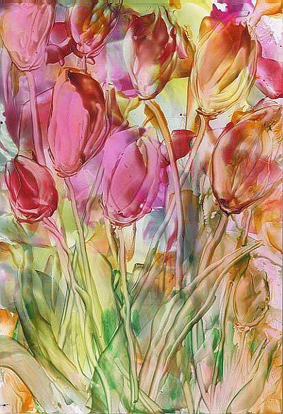 Art: Tulips by Artist Ulrike 'Ricky' Martin