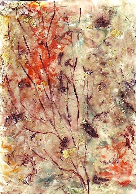 Art: Autumn Branches by Artist Ulrike 'Ricky' Martin