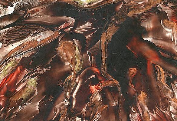Art: Roots by Artist Ulrike 'Ricky' Martin