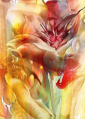 Art: Floral by Artist Ulrike 'Ricky' Martin