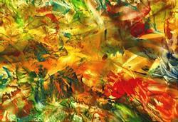 Art: Abstract # 82 by Artist Ulrike 'Ricky' Martin