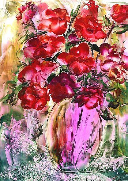 Art: Bouquet # 3  by Artist Ulrike 'Ricky' Martin
