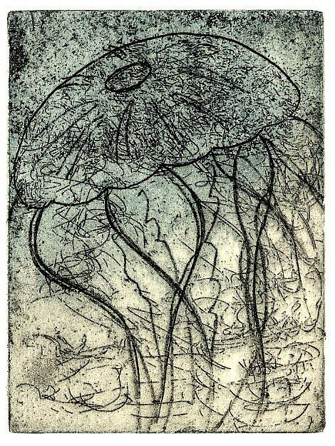 Art: Medusa by Artist Wendy L. Gonick