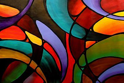 Art: The Abbey Window by Artist Elena Feliciano