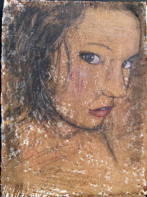 Art: Gypsy Monore by Artist Jovon Vitella