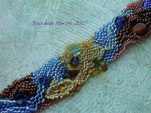 Art: Apostle Islands Bracelet by Artist Stephanie M. Daigle