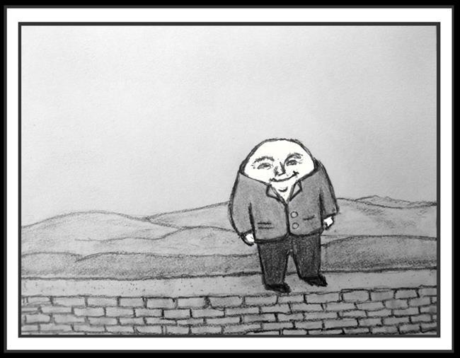 Art: Humpty Dumpty by Artist Revere J
