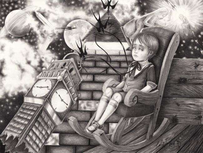 Art: Keys to the Universe (Godspeed) by Artist PeeMonster