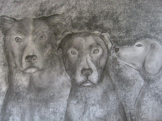Art: TRIO by Artist Nata Romeo ArtistaDonna