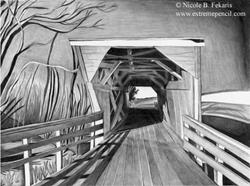Art: Bridge Country by Artist Nicole B. Fekaris