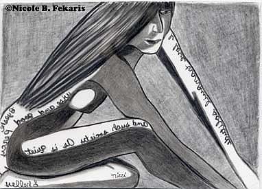 Art: Tranquil by Artist Nicole B. Fekaris
