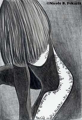 Art: Deceiver by Artist Nicole Fekaris