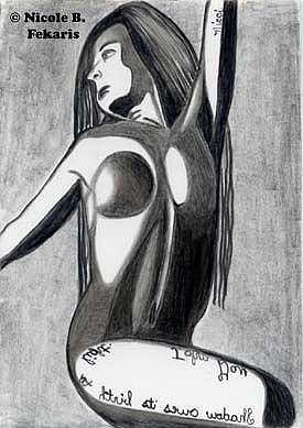 Art: Shadows by Artist Nicole Fekaris