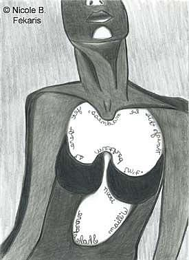 Art: Unbalanced by Artist Nicole Fekaris