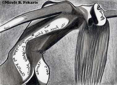 Art: Bliss by Artist Nicole Fekaris