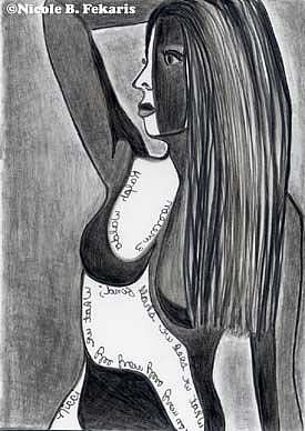 Art: In Search Of by Artist Nicole Fekaris