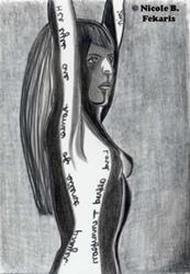 Art: Silent by Artist Nicole B. Fekaris