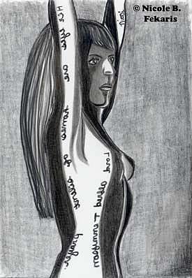 Art: Silent by Artist Nicole Fekaris