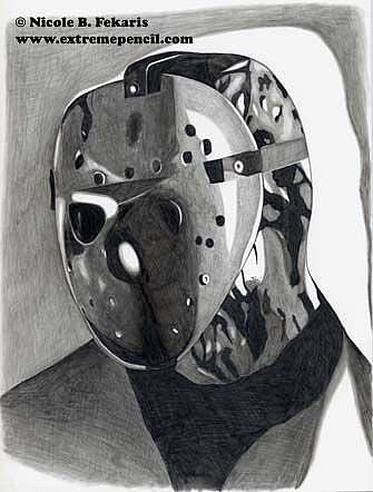 Art: Jason by Artist Nicole Fekaris