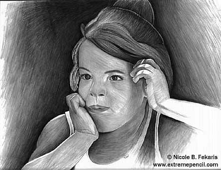 Art: Daydreamer  by Artist Nicole Fekaris