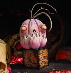 Art: Zombie pumpkin by Artist Jordana