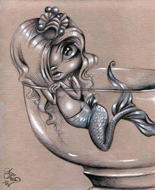 Art: Aquarelle by Artist Sour Taffy