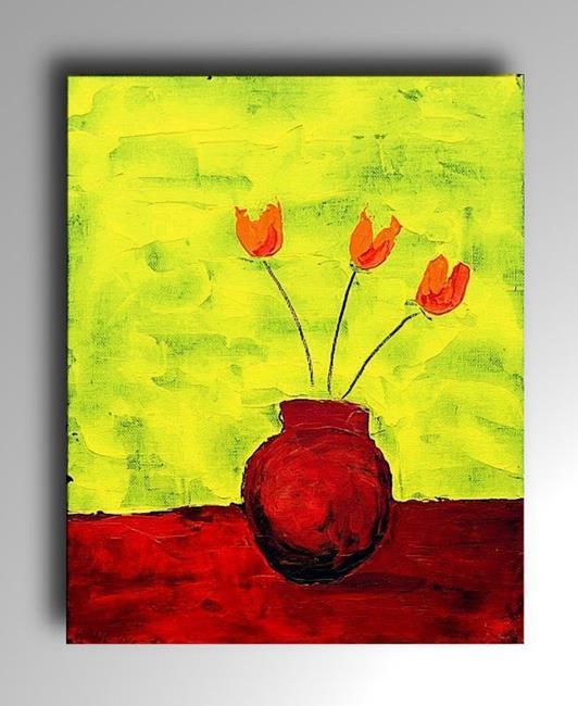 Art: Flowers 1 by Artist Amanda Hone